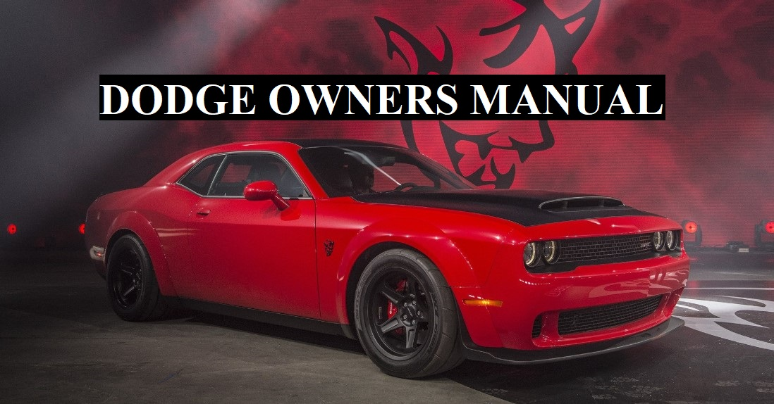 Dodge Owners Manual