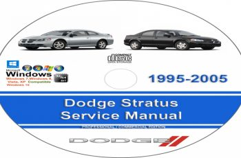 1995 Dodge Stratus Owners Manual