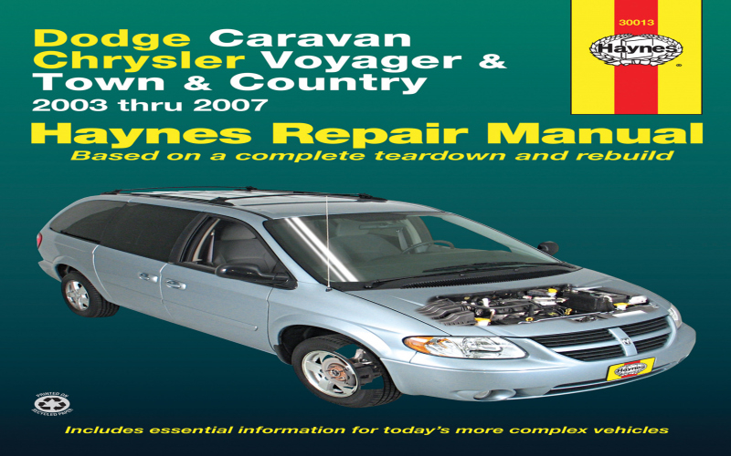 1998 Dodge Grand Caravan Owners Manual PDF