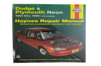 1998 Dodge Neon Owners Manual
