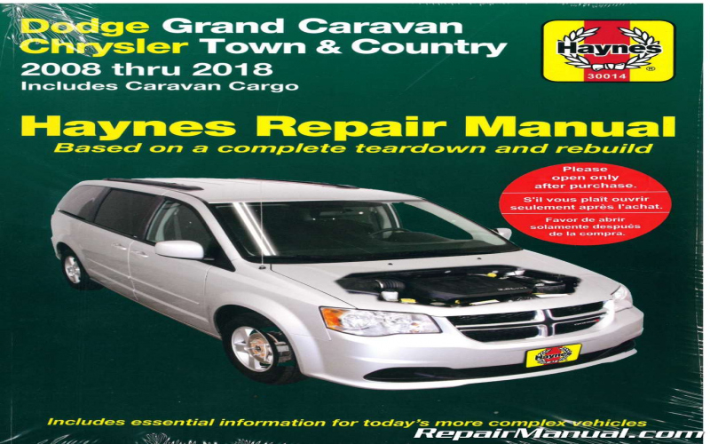 2000 Dodge Grand Caravan Owners Manual