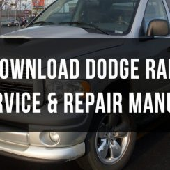 2000 Dodge RAM 2500 Owners Manual