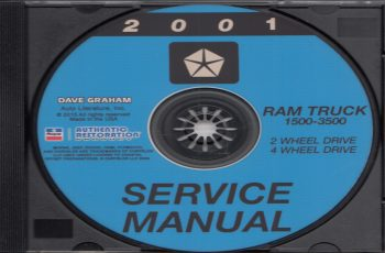 2001 Dodge Dakota Sport Owners Manual