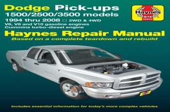 2001 Dodge RAM 2500 Service Manual Free Download