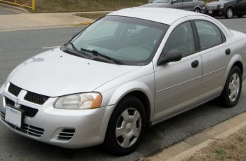2001 Dodge Stratus R/T Coupe Owners Manual