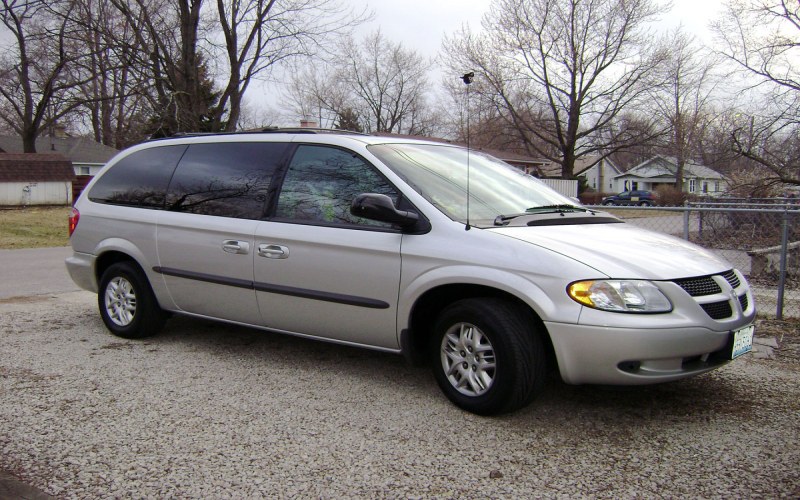 2002 Dodge Caravan Owners Manual PDF Free