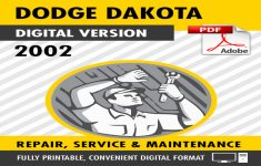 2002 Dodge Dakota Factory Service Manual PDF