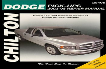 2002 Dodge RAM Owners Manual