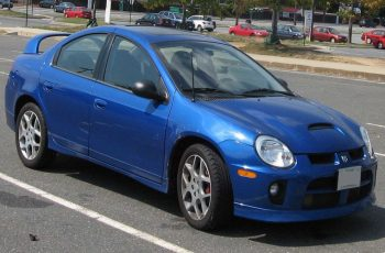 2003 Dodge Sx 2.0 Owners Manual