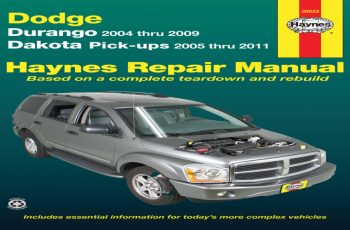 2004 Dodge Dakota 4.7 Owners Manual