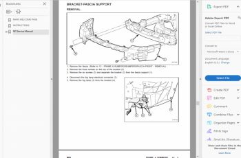 2004 Dodge Dakota Factory Service Manual PDF