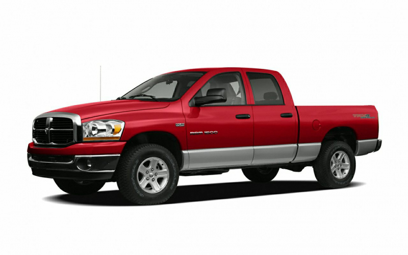 2006 Dodge RAM 1500 Slt Owners Manual