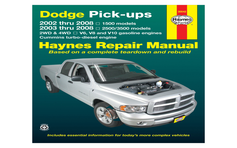 2008 Dodge 2500 Cummins Owners Manual