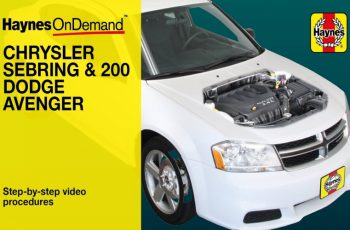 2008 Dodge Avenger Owners Manual PDF