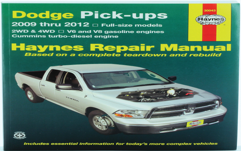 2009 Dodge 1500 Owners Manual