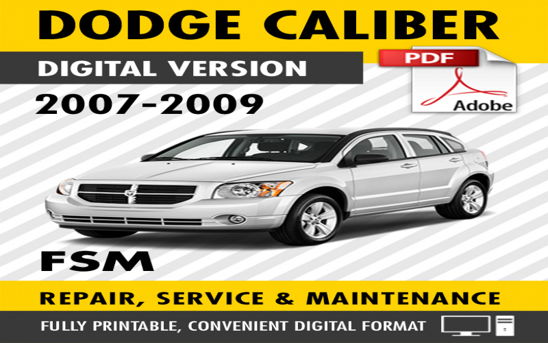 2009 Dodge Caliber Srt 4 Owners Manual