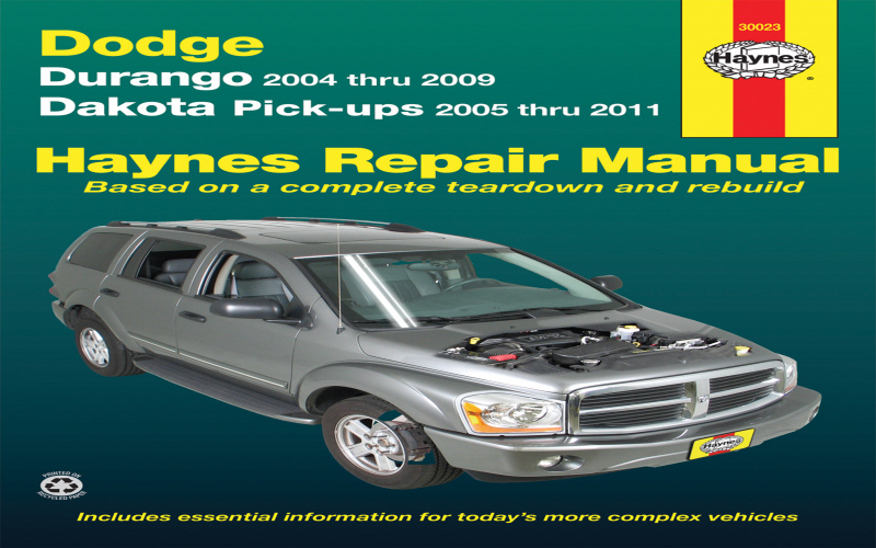 2009 Dodge Dakota Owners Manual PDF
