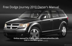 2009 Dodge Journey Owners Manual PDF