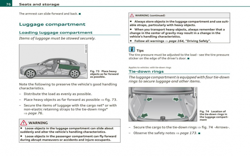 2010 Audi A4 Owners Manual
