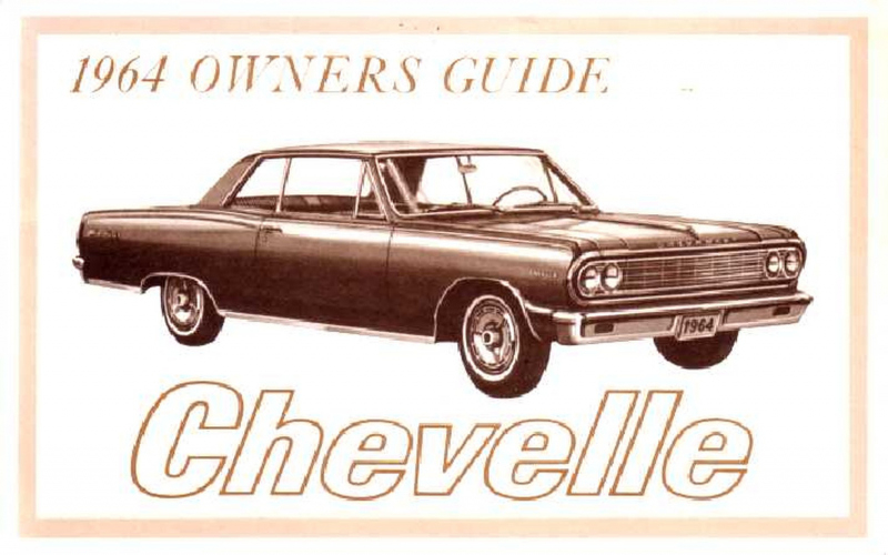2010 Chevrolet Chevelle Owners Manual