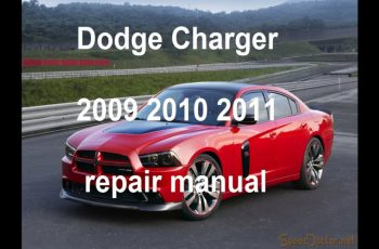 2010 Dodge Charger R/T Owners Manual