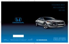 2010 Honda Crosstour Owners Manual