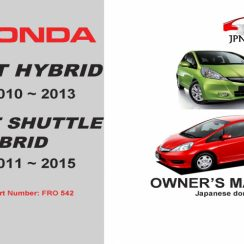 2010 Honda FIT Owners Manual