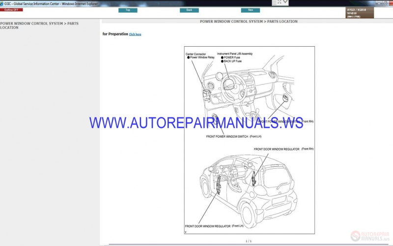 2010 Toyota Aygo Owners Manual