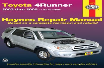 2010 Toyota Forerunner Owners Manual