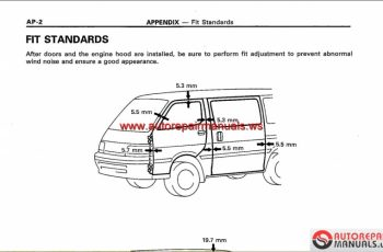 2010 Toyota Hiace Owners Manual