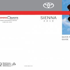 2010 Toyota Sienna Owners Manual