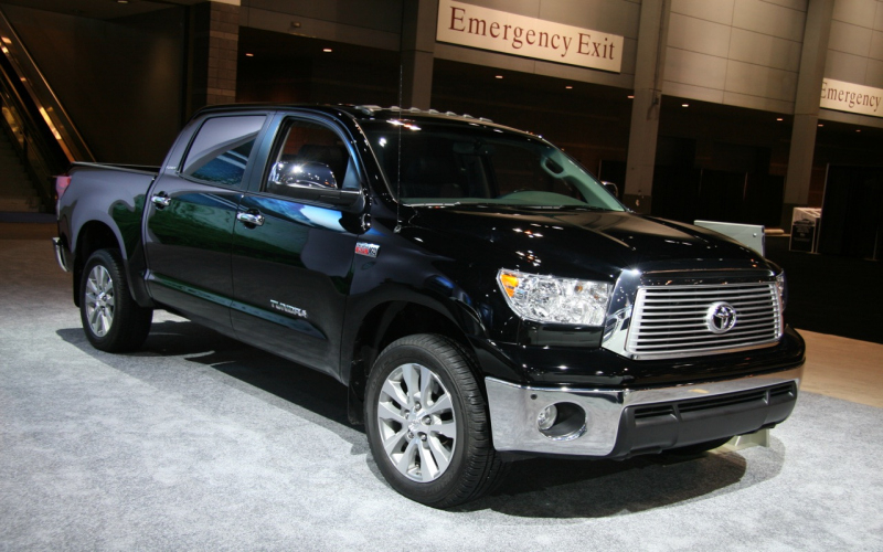 2010 Toyota Tundra Owners Manual