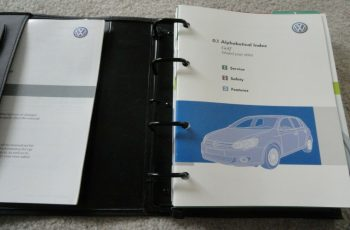 2010 VW Golf Owners Manual