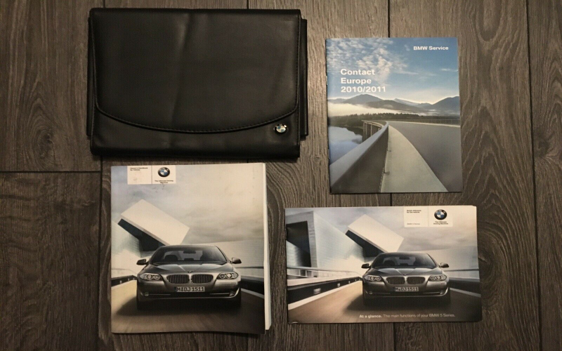 2011 BMW 5 Series Owners Manual