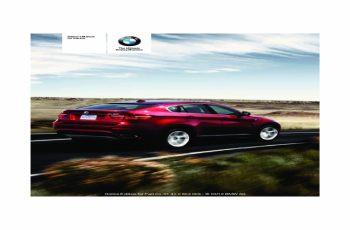 2011 BMW X6 Owners Manual