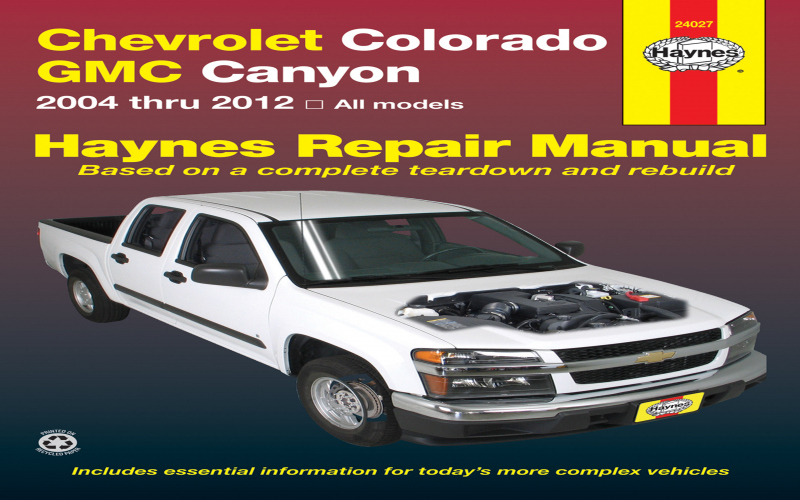 2011 Chevrolet Colorado Owners Manual