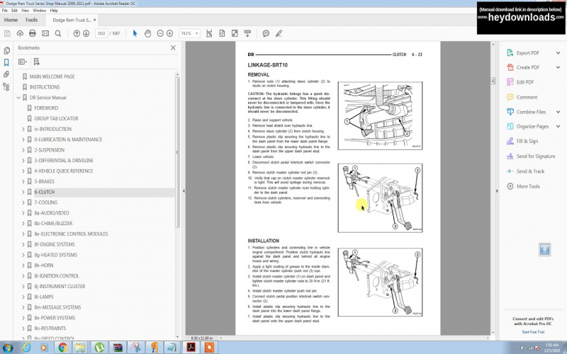 2011 Dodge 1500 Owners Manual