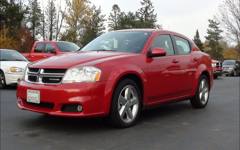2011 Dodge Avenger Mainstreet Owners Manual