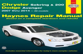 2011 Dodge Avenger Owners Manual