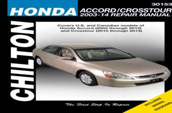 2011 Honda Crosstour Owners Manual