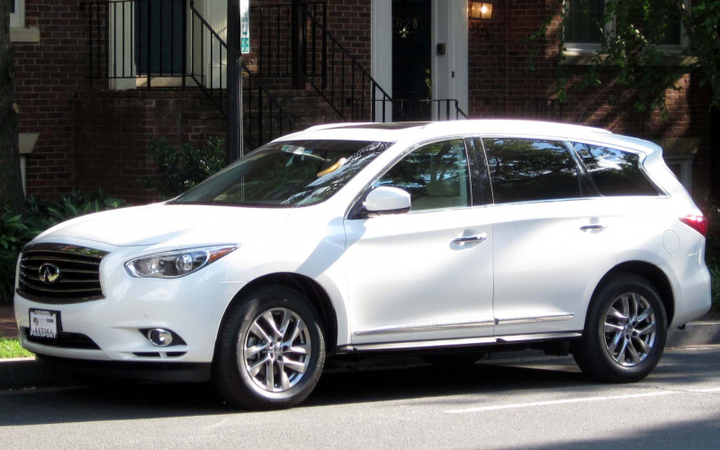 2011 Infiniti QX60 Owners Manual