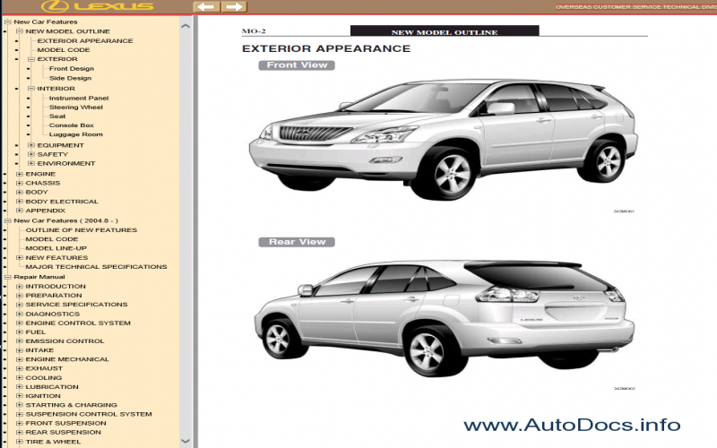 2011 Lexus RX 350 Owners Manual