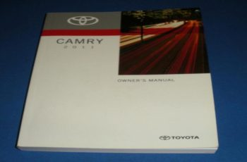 2011 Toyota Camry Owners Manual