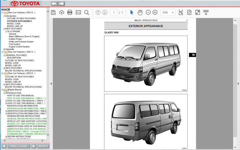2011 Toyota Hiace Owners Manual