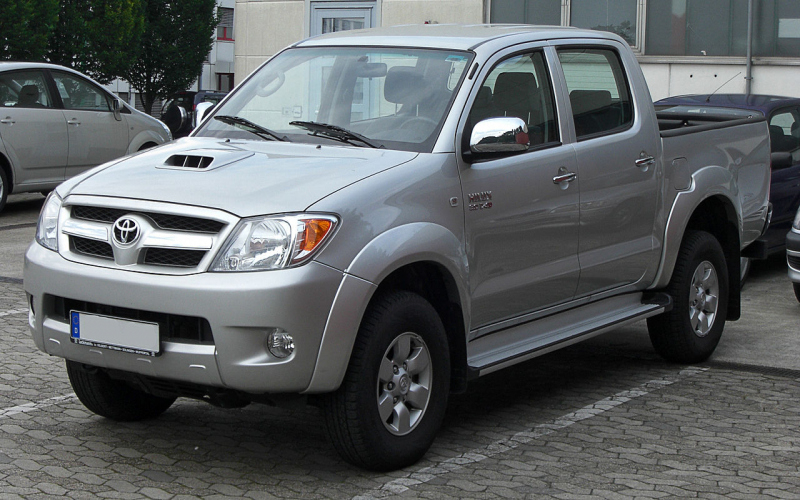 2011 Toyota Hilux Owners Manual