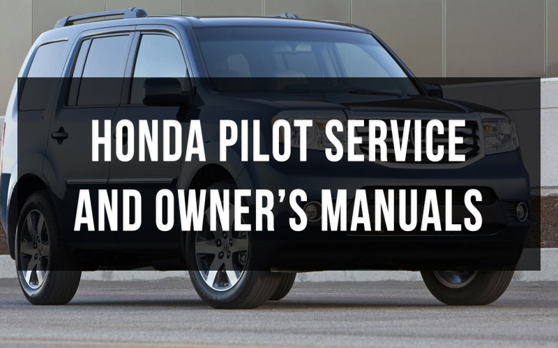 2012 Honda Passport Owners Manual