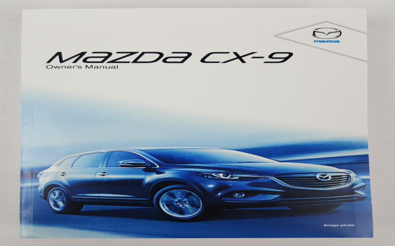 2012 Mazda CX 9 Owners Manual