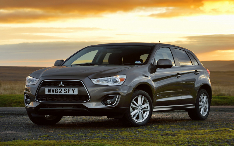 2012 Mitsubishi ASX Owners Manual