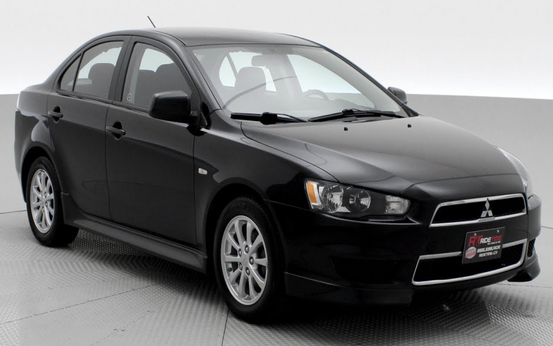2012 Mitsubishi Lancer Owners Manual