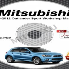 2012 Mitsubishi RVR Owners Manual
